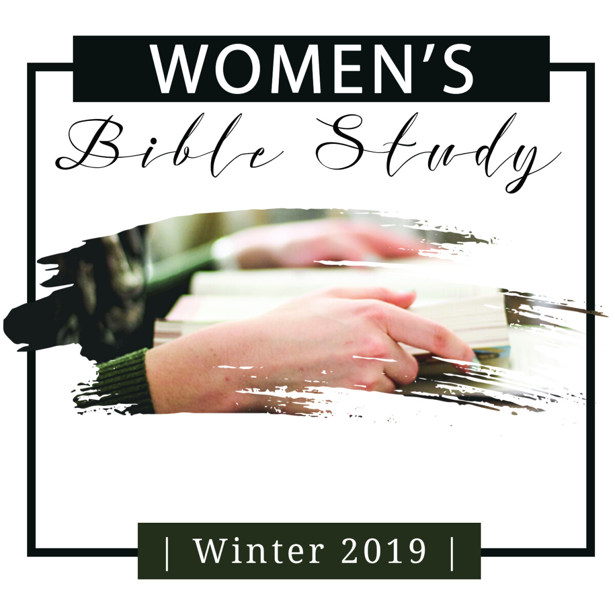 Women's Tuesday AM Bible Studies, begin January 8, 2019