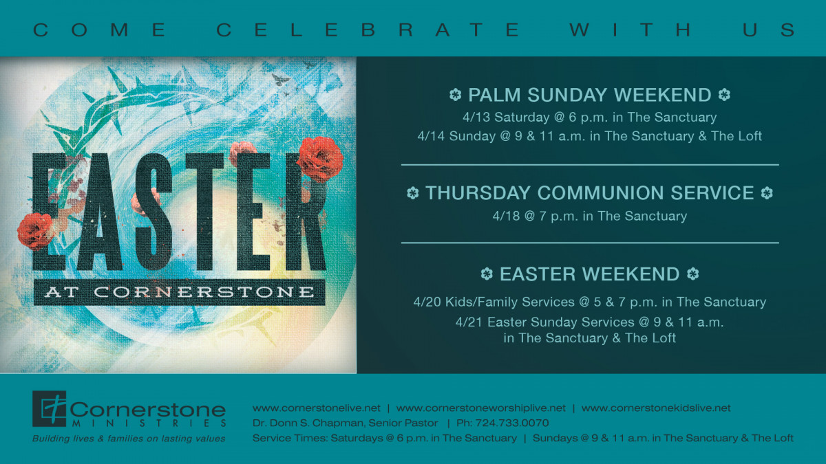 Easter at Cornerstone