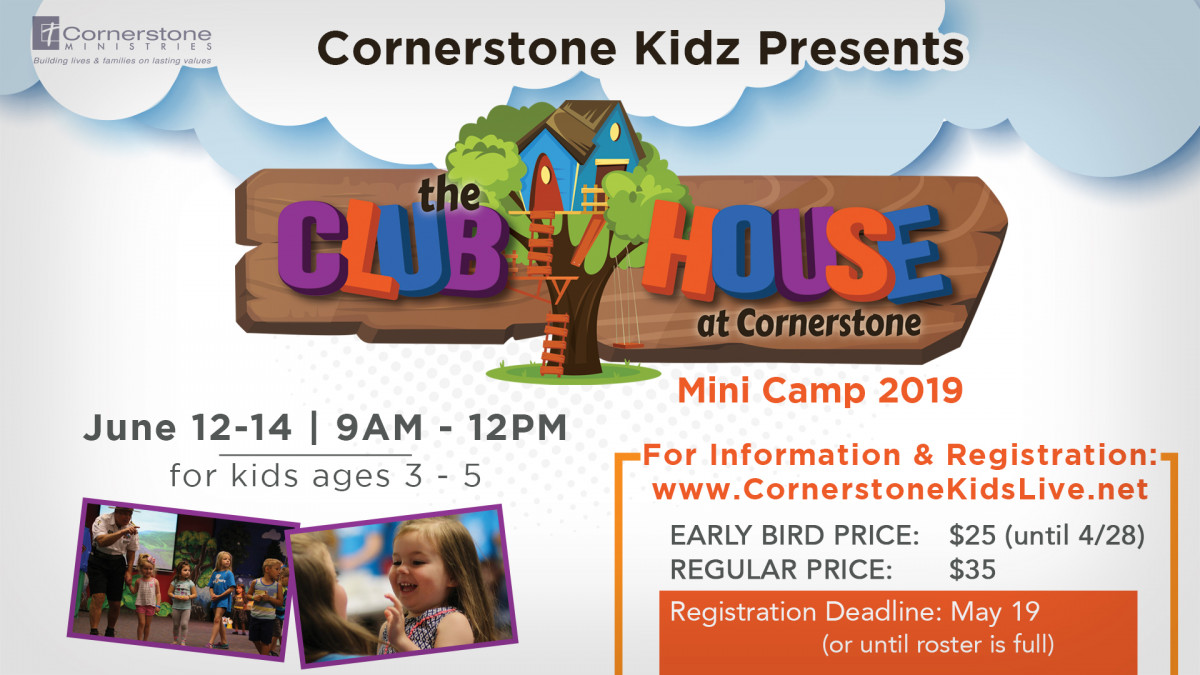 Cornerstone Kidz Mini Camp