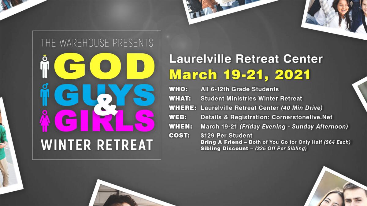 Student Ministry Winter Retreat