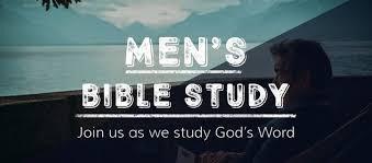 Men's Saturday Bible Study